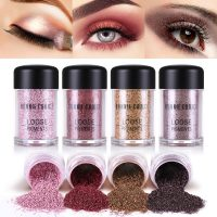 BONNIE CHOICE Dazzling Eyeshadow Powder Eye Primer Foundation Makeup Eye Pigment Powder Smokey Eyes