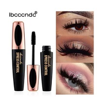 Silk Fiber Lash Mascara Waterproof Rimel 3d Mascara For Eyelash Extension Black Thick Lengthening Eye Lashes Cosmetics