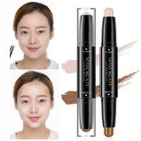 Dual Ended Highlighter Pen Corrector Contour Stick 3D Face Makeup Concealer Contouring Cosmetic