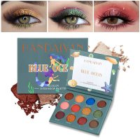 12 Colors/Box Eyeshadow Palette Cosmetic Matte Pearl Contour Eye Shadow Powder Beauty Eye Makeup