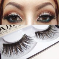 Pair Eyelash 4 Patterns Pretty Dual Color False Eyelash Kit Thick Curly False Eyelash Kit Quality and affordable cosmetics