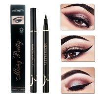 Liquid Eyeliner Pen Black Waterproof Long Lasting Smudge-Proof Eye Liner Pencil