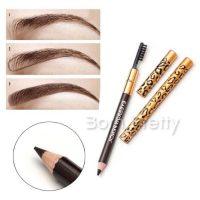 2in1 Double-end Eyebrow Pen Pencil Eyeliner Waterproof Smudge Proof Long Lasting