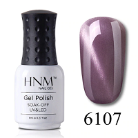 HNM 8ML Stamping Paint Nail Polish Cat Eye's purple Series Nail Art Vernis a Ongle Stamping Nagellak Gelpolish Paint Gellak