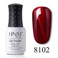 HNM 8ML Stamping Paint Nail Polish Cat Eye's Wine Red Series Nail Art Vernis a Ongle Stamping Nagellak Gelpolish Paint Gellak