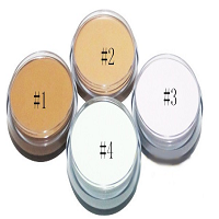 Natural Bright Concealer Powder Pearl Cream Professional Compact Pressed Foundation Powder