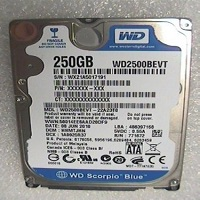 250GB Western Digital WD2500BEVT 2.5″