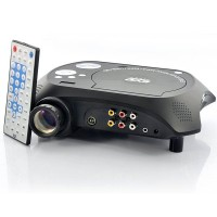 LED Multimedia Projector with DVD Player – 480×320