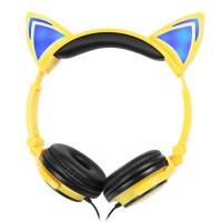 Cute Cat Ear Design Headphones