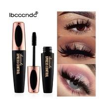 Silk Fiber Lash Mascara Waterproof Rimel 3d Mascara For Eyelash Extension Black Thick Lengthening Eye Lashes Cosmetics