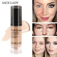 SACE LADY Full Cover 8 Colors Liquid Concealer Makeup 6ml Eye Dark Circles Cream Face Corrector