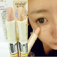 Double-ended Concealer Stick & Gel Multifuntional Dark Circle Cover-up Concealer 4 Colors